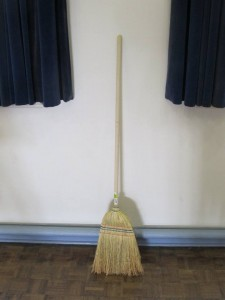 a broom in waiting