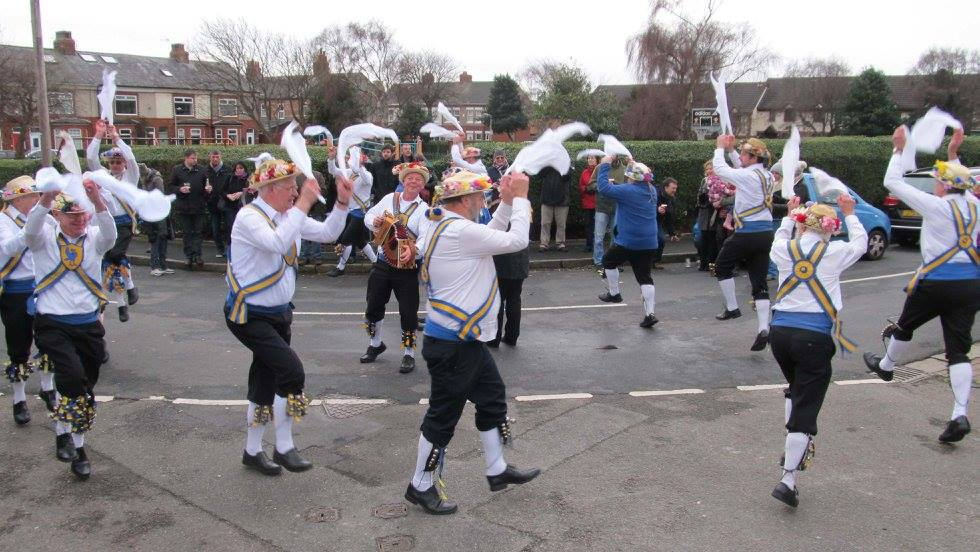 dancing at plasterers arm 010116